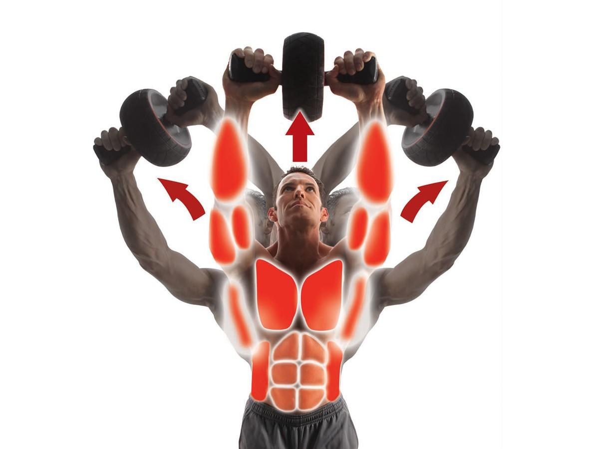 Gymbit Speed abs - posilujte najednou více svalových partií