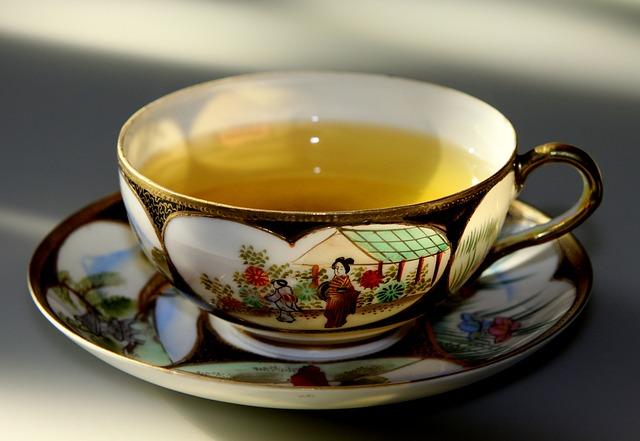 Zelený, čaj