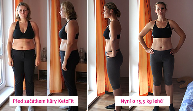 KetoFit - Před a Po