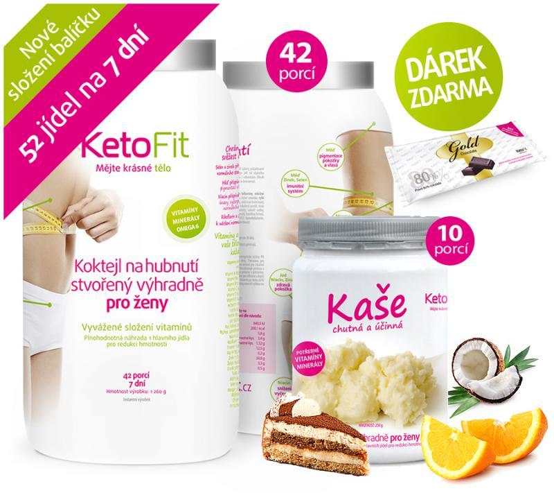 KetoFit dieta - balíček na jeden týden
