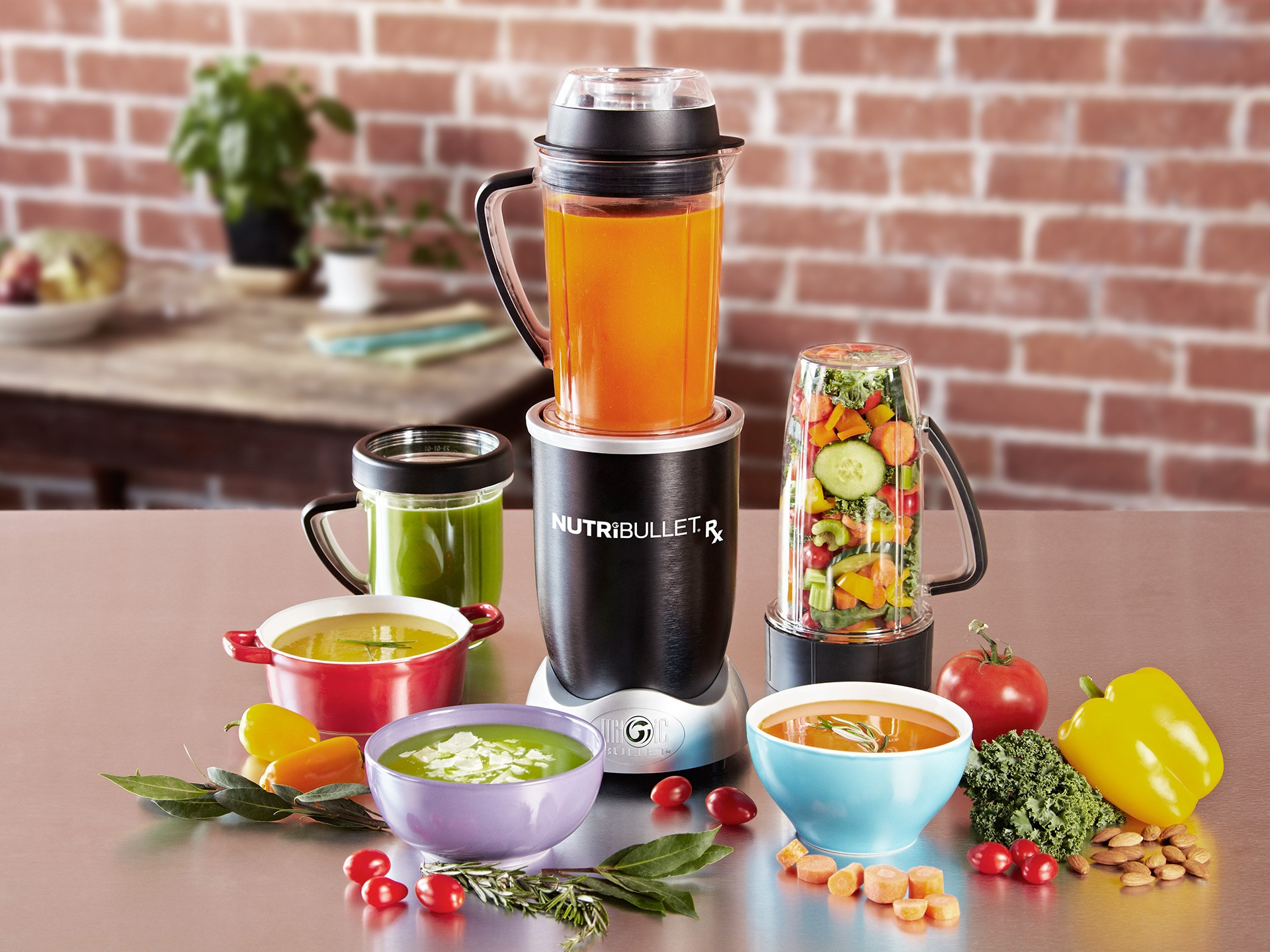 Nutribullet RX, 1700W, 30.000RPM, 9 piese