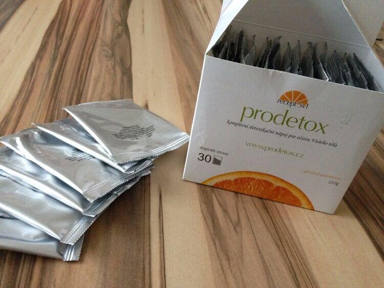 Prodetox - sáčky a krabička