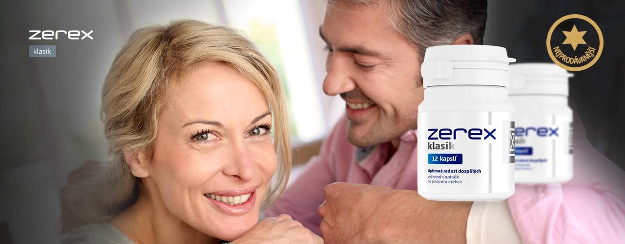 Zerex - tablety na podporu erekce