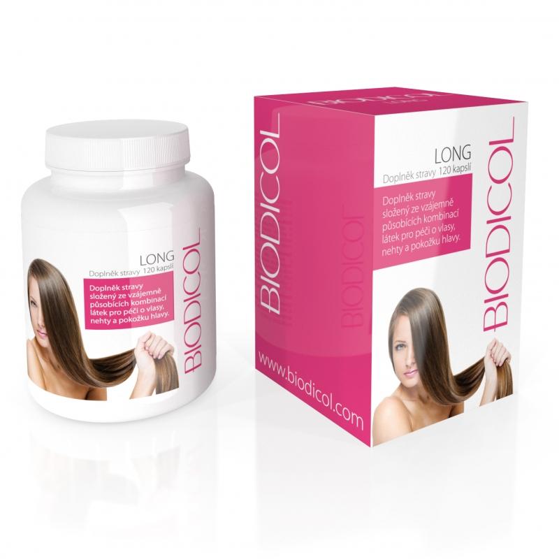 Biodicol Long - Přípravek na zlepšení kvality vlasů, nehtů a kůže