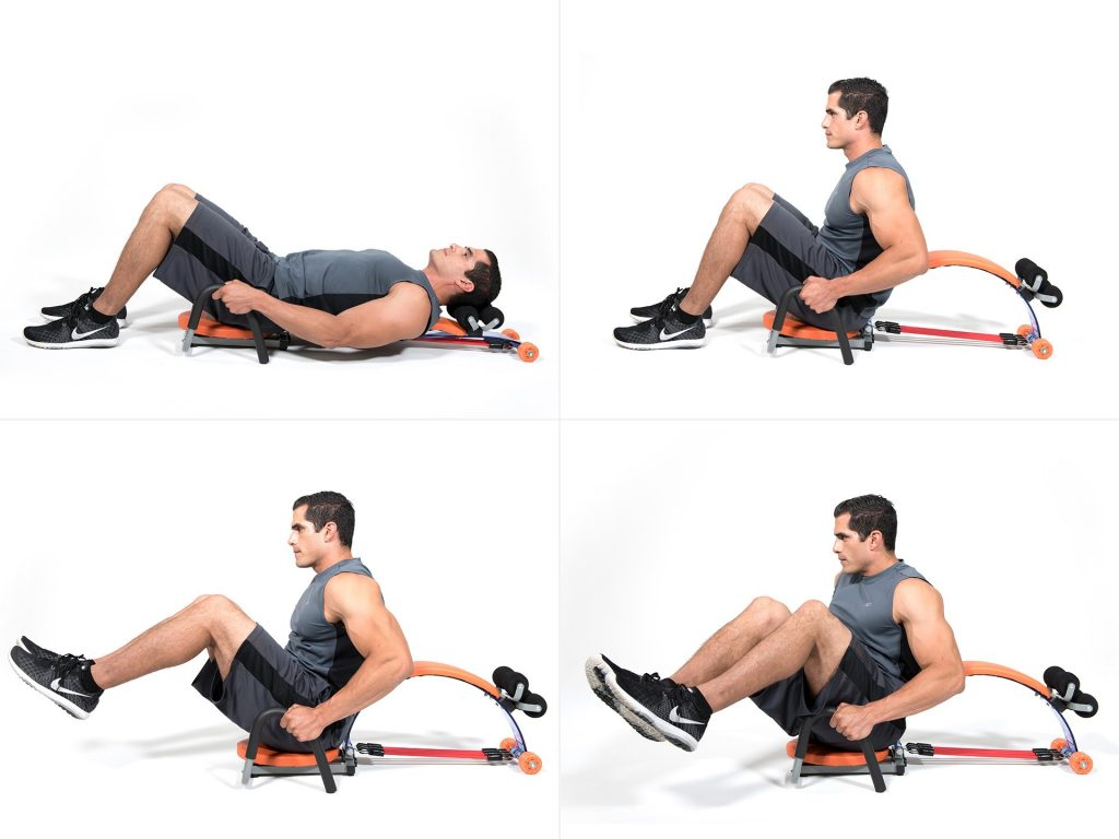 Posilovač Gymbit Ab Slim Flex - Cviky pro muže