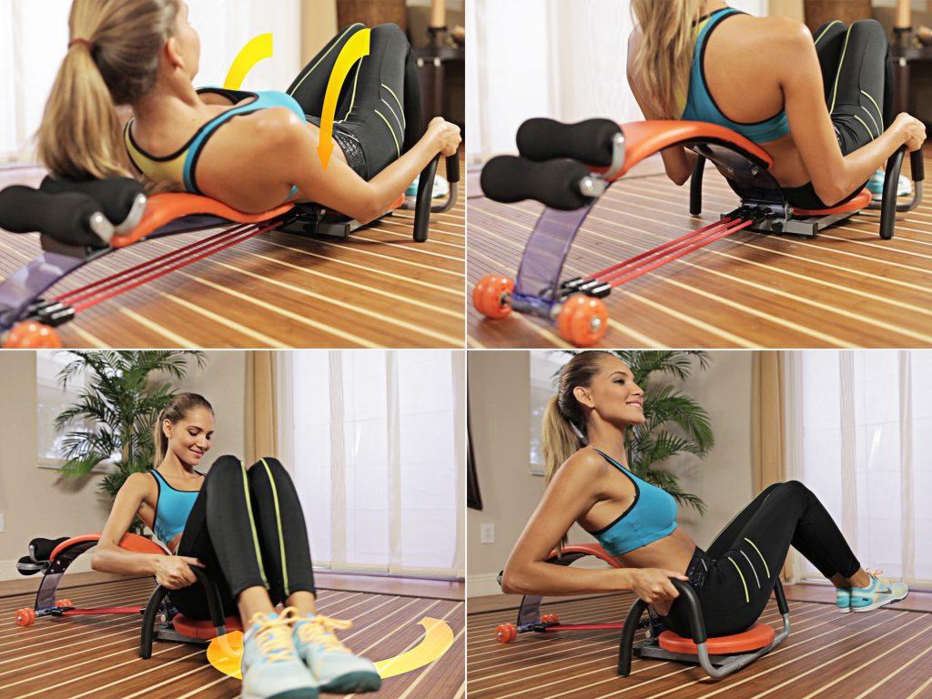 Posilovač Gymbit Ab Slim Flex - Cviky pro ženy