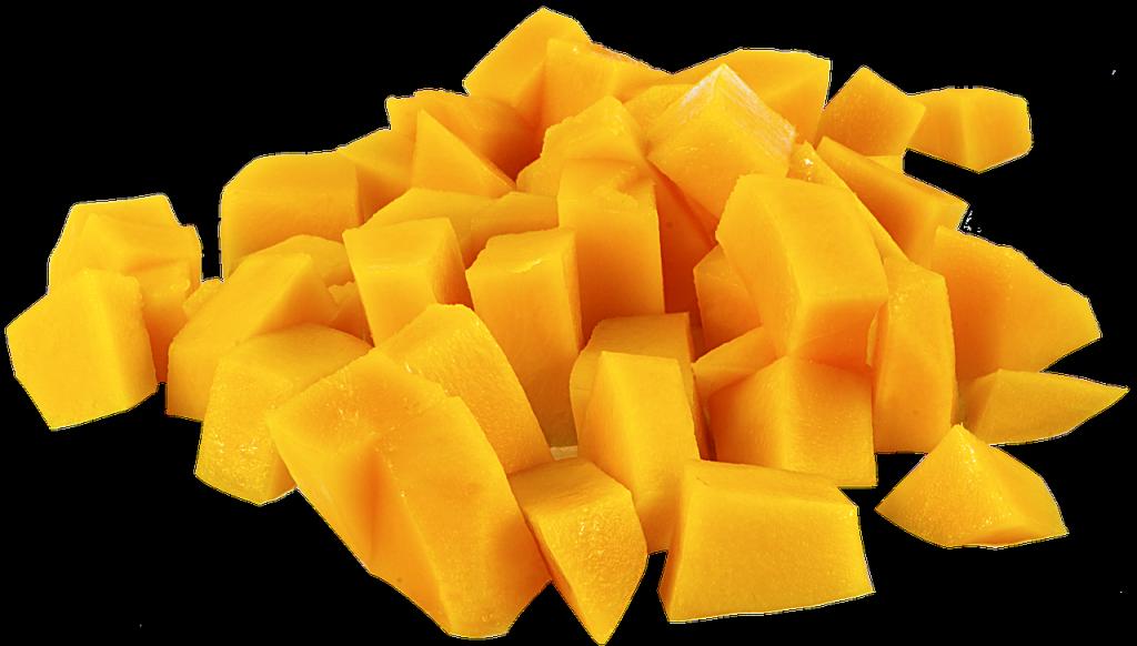 Mango pokrájené na kousky můžete přidávat do salátů i do smoothies