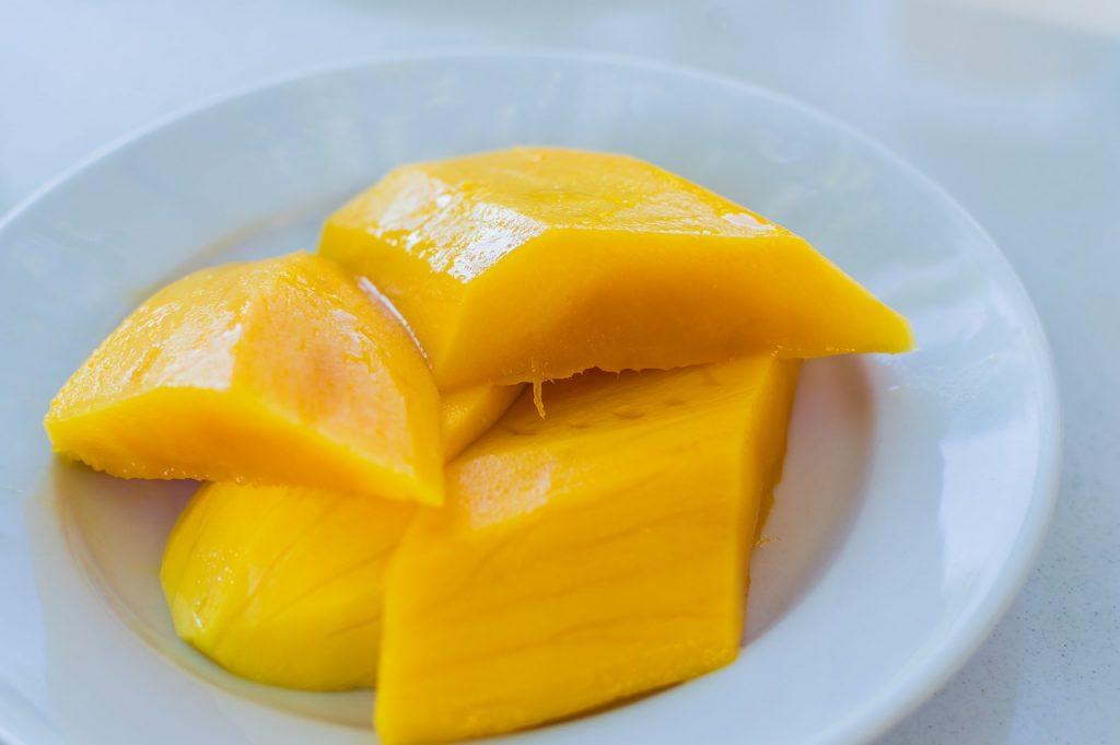 Mango má velmi osvěžující chuť