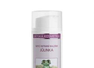 Nobilis Tilia Dětský mycí intimní balzám Jůlinka BIO (100 ml)