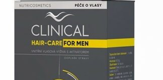 Clinical Hair-Care for MEN tob.60 - 2měs.kúra - II. jakost