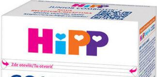 HiPP MLÉKO HiPP 4 JUNIOR Combiotik 500g - II. jakost