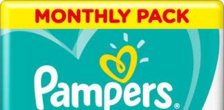 Pampers kalhotkové plenky Monthly Box 4+ 164ks