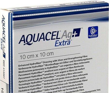 AQUACEL AG+ EXTRA 10X10 CM