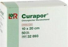 NÁPLAST HYPOALERGENNÍ CURAPOR 20X10CM