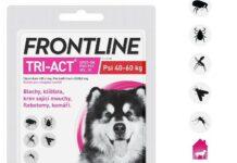 Frontline Tri-Act psi 40-60kg spot-on pipeta 1x6ml