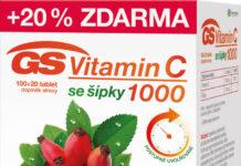 GS Vitamin C1000 se šípky tbl.100+20 - II. jakost