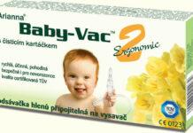 Arianna Baby-Vac 2 s čistic.kart. odsávačka hlenů - II. jakost