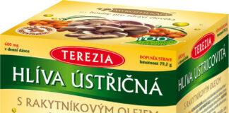 Terezia Company Hlíva ústřičná s rakytníkovým olejem 100+100 kapslí