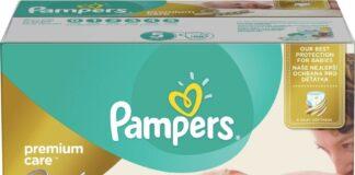 Pampers Premium Care POME box S1 88+S2 80