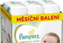Pampers Plenky Premium Monthly Box S5 136