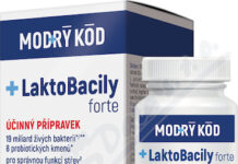 LaktoBacily FORTE tob. 30 MODRÝ KÓD