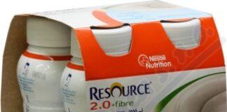 RESOURCE 2.0 FIBRE NEUTRÁLNÍ PŘÍCHUŤ perorální SOL 4X200ML