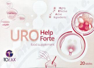 TOZAX URO Help Forte sáčky 20x2g